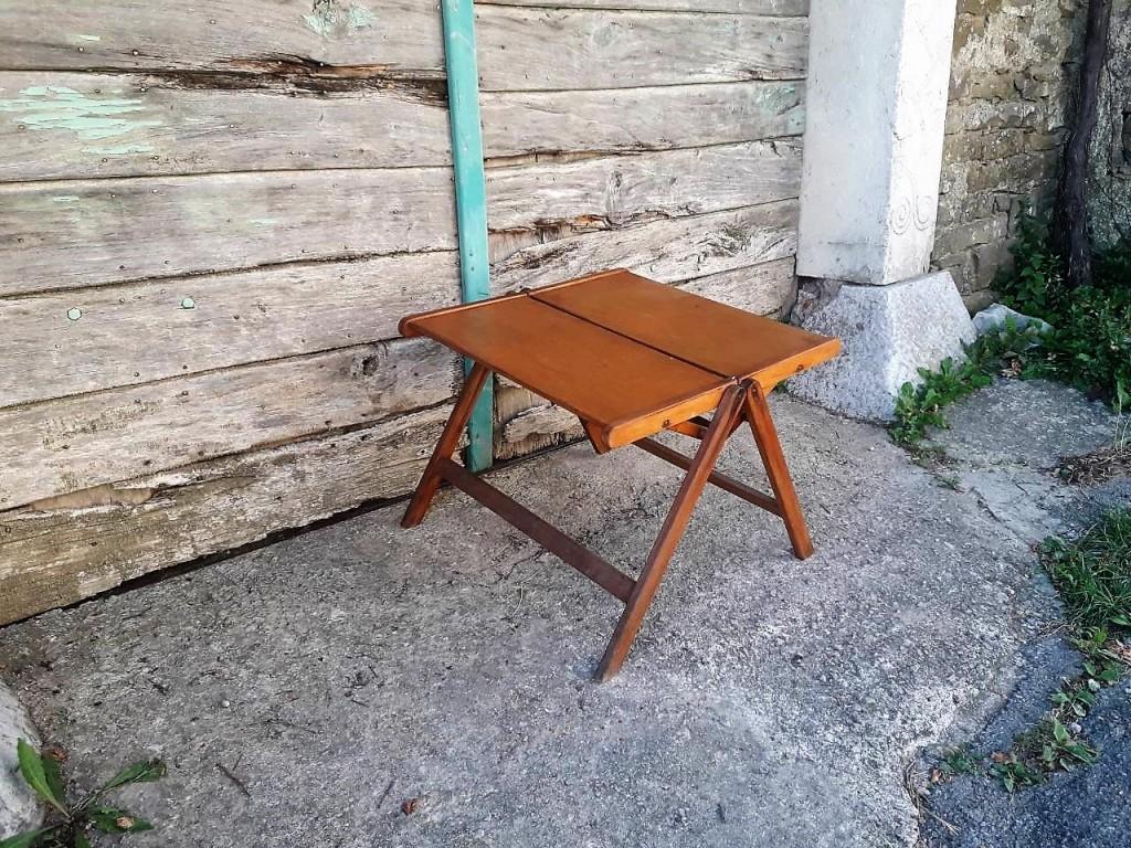 Vintage Zložljiva Rex Mizica/ Kavna Mizica/Dizajn Niko Kralj /MoMa /60s