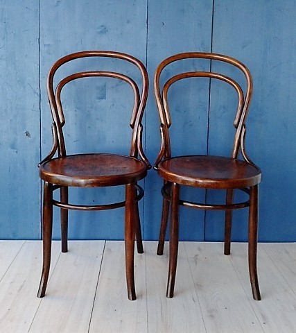 Pair of Mundus Austria chairs