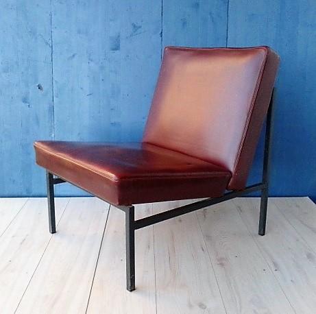 Usnjena fotelja - Stol Kamnik