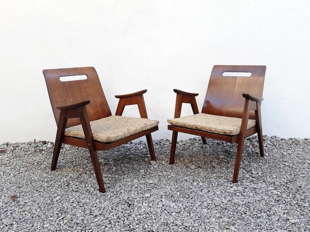 Vintage Lounge Par Foteljev Meblo