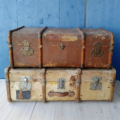 Vintage luggage - Antique trunks